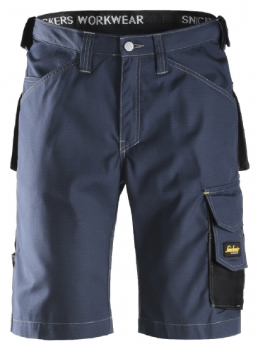 Snickers 3123 Ripstop Craftsmen Shorts (Navy / Black)